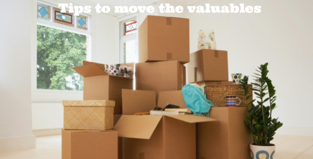 Tips to move the valuables